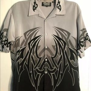 Men's Dragonfly button up shirt